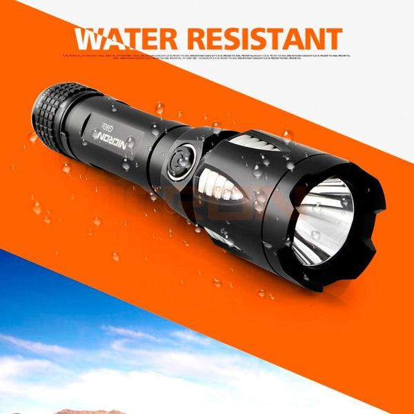 Waterproof High Bright Long Beam Portable LED Flashlight/Torch with Power Bank (9W, 5 Mode)-Flashlight/Torch-[variant_title]-Khadiza Electricals