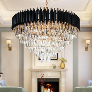 Crystal Round Chandelier