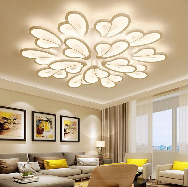 Butterfly Shaped LED Chandelier