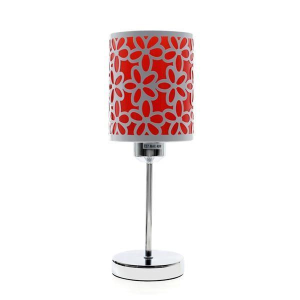 Modern Design Table Lamp-Decorative Table Lamp-Red-Khadiza Electricals