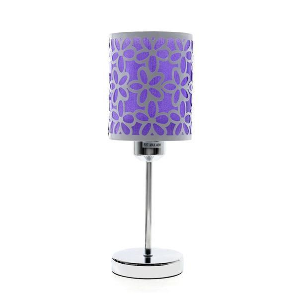 Modern Design Table Lamp-Decorative Table Lamp-Purple-Khadiza Electricals