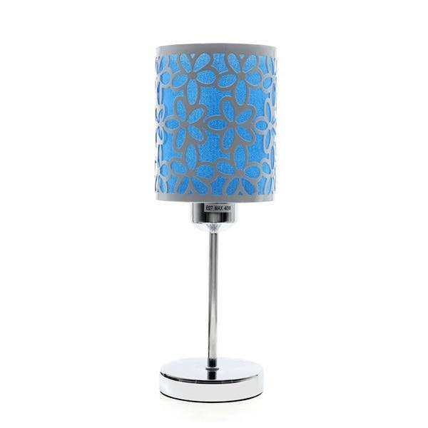 Modern Design Table Lamp-Decorative Table Lamp-Blue-Khadiza Electricals