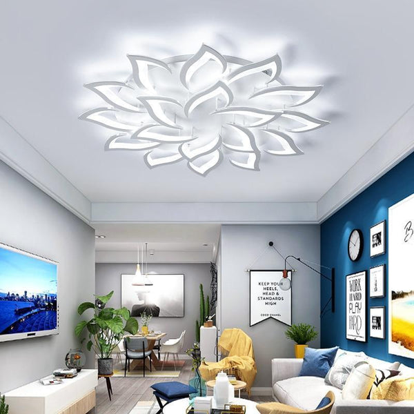 LED Lotus Chandelier-Decorative Chandelier-[variant_title]-Khadiza Electricals