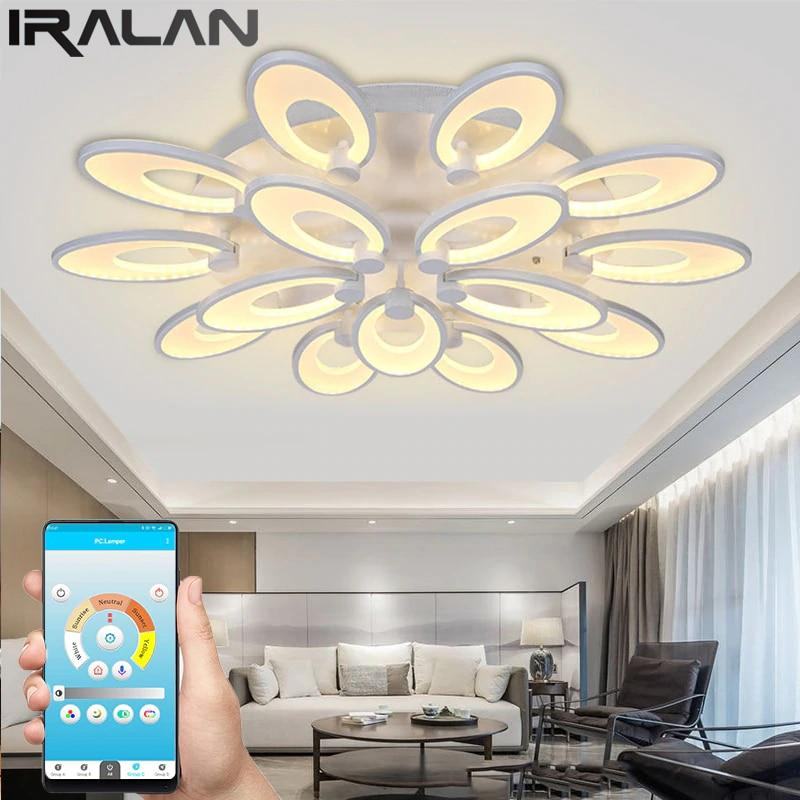 Gaillardia Flower Shaped LED Chandelier with App Control