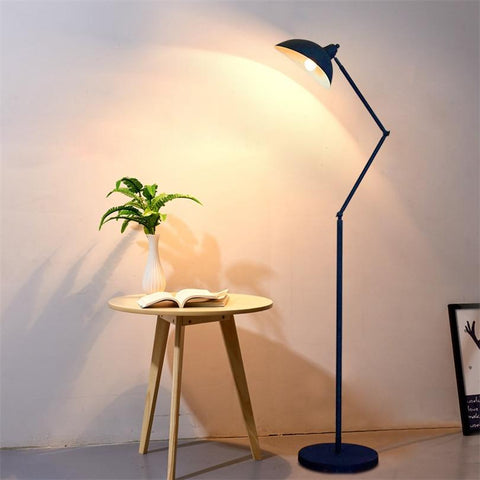 Nordic Dawn Spider Serge Mouille Floor Lamp With Adjustable Angle
