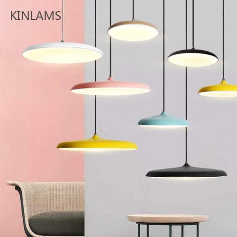 Colorful Flying Saucer Pendant Lamp