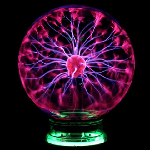 Magic Plasma Glass Ball Light