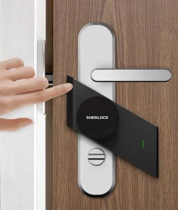 App Controlled Smart Keyless door lock (Fingerprint+Password)-Other Electrical Products-[variant_title]-Khadiza Electricals