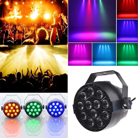 RGB Par Light (12 LED-3IN1)-DJ Lights & Sound-US Plug-Khadiza Electricals
