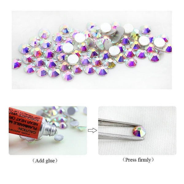 Glittering Rhinestones Crystal for Nail Art-Funny But Useful-[variant_title]-Khadiza Electricals