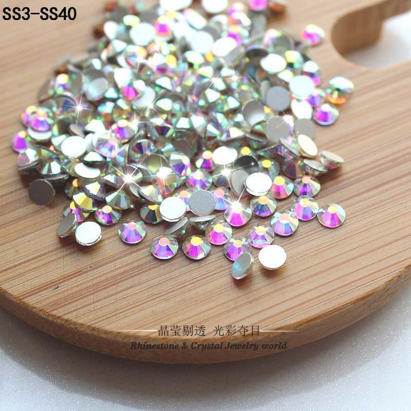 Glittering Rhinestones Crystal for Nail Art-Funny But Useful-SS3  -  1440PCS-Khadiza Electricals
