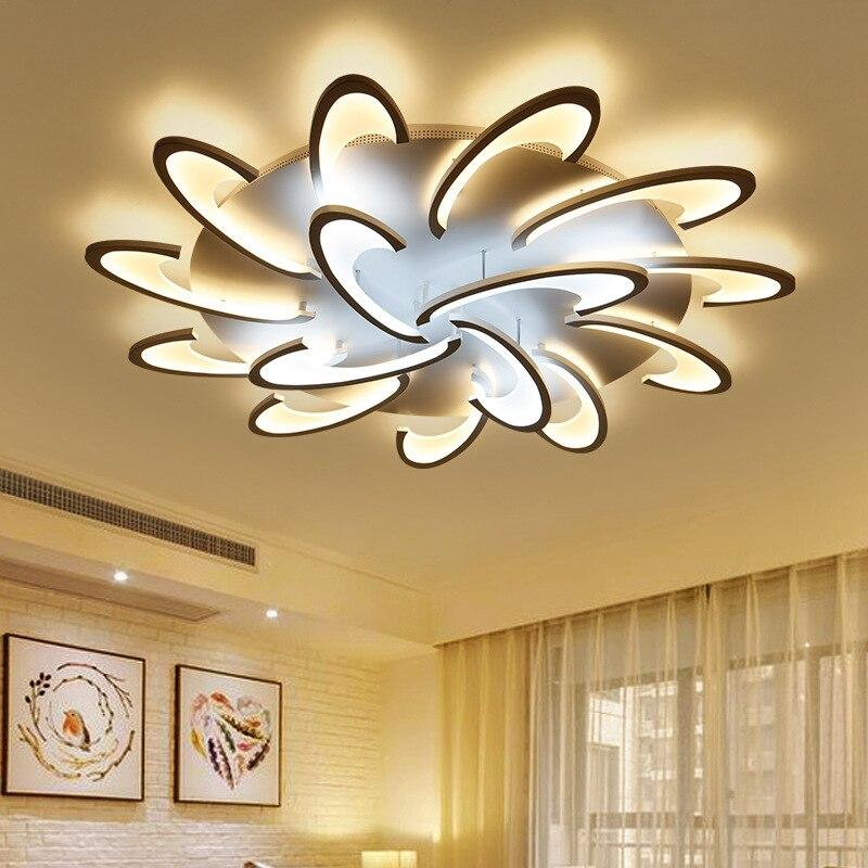 Jasmine Flower Shaped Led Chandelier with App Support