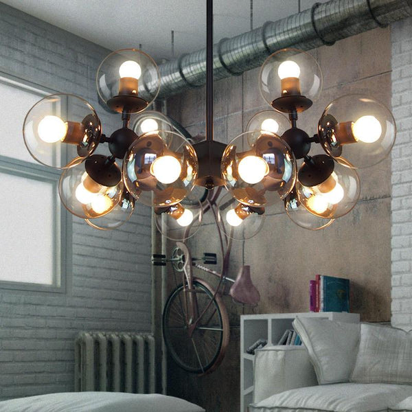 Retro Cage Kerosene Pendant Lamp(Bulb Excluded)-Decorative Pendant Lamp-[variant_title]-Khadiza Electricals