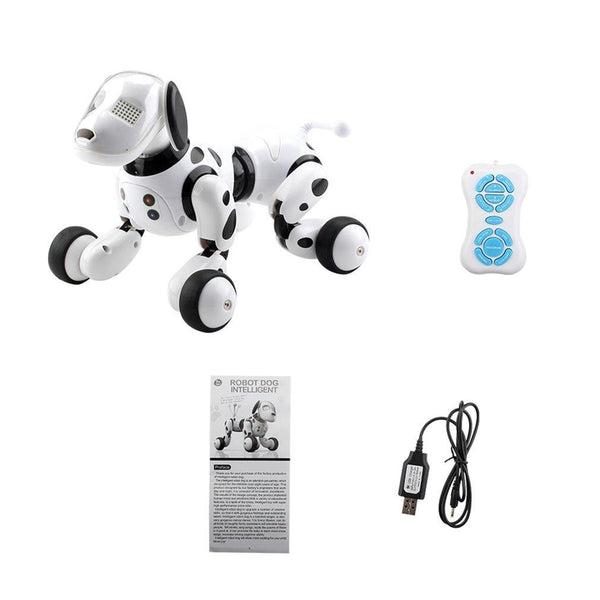 Remote Controlled Intelligent Robot Dog