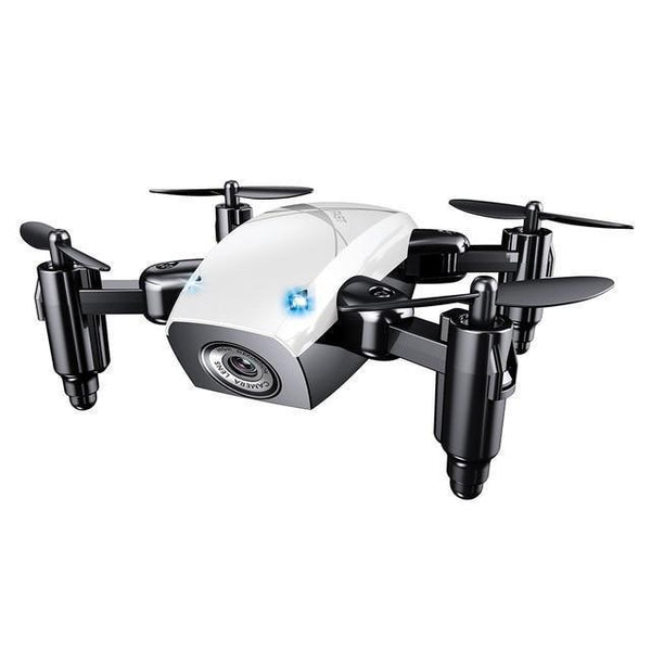 S9HW Remote Controlled Mini Quad-copter Drone (HD Camera, WiFi)-Toy-white with camera / China-Khadiza Electricals