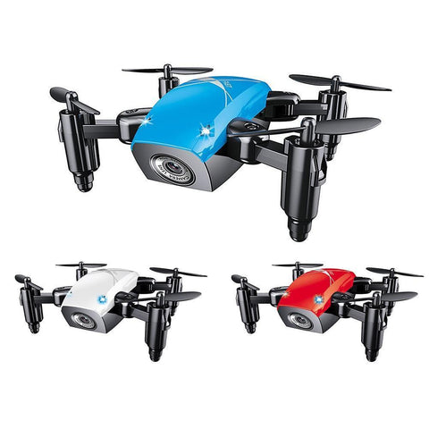 S9HW Remote Controlled Mini Quad-copter Drone (HD Camera, WiFi)-Toy-[variant_title]-Khadiza Electricals