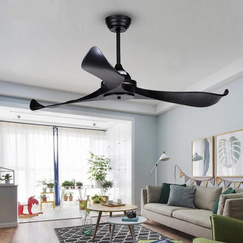 Curved Blade Ceiling fan with Remote Control