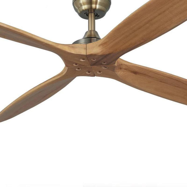 Wooden Ceiling Fan with Remote Control-Decorative Fan-[variant_title]-Khadiza Electricals
