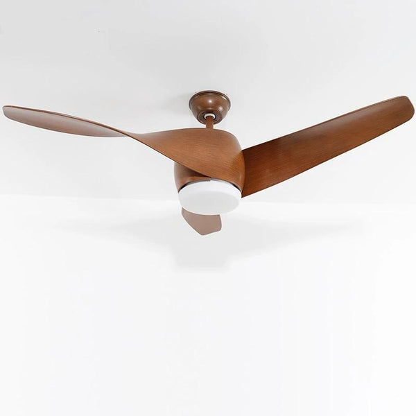 Vintage Wooden Ceiling Fan with Remote Control( Bulbs Included)-Decorative Fan-[variant_title]-Khadiza Electricals