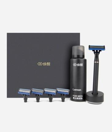 Xiaomi H600 Stand Trimmer Shaver & Foam Blades-Funny But Useful-8 in 1 bundle / Russian Federation-Khadiza Electricals