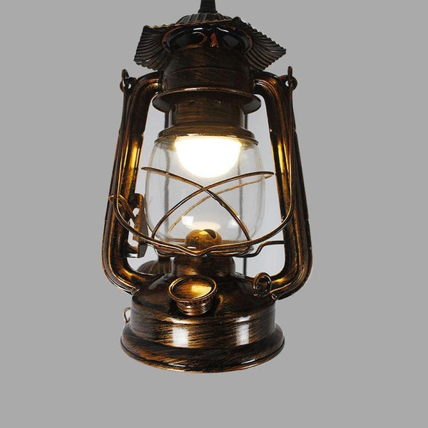 Revolving Stairs Pendant Kerosene Lamp(Bulb Excluded)-Decorative Pendant Lamp-single head H100cm-Khadiza Electricals