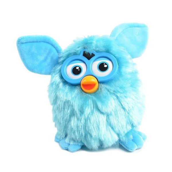 Talking Plush Phoebe Owl(17 CM)-Toy-blue-Khadiza Electricals