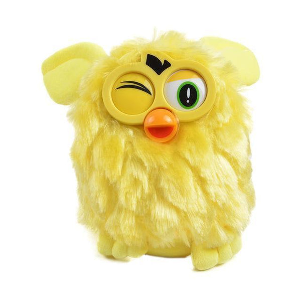 Talking Plush Phoebe Owl(17 CM)-Toy-yellow-Khadiza Electricals