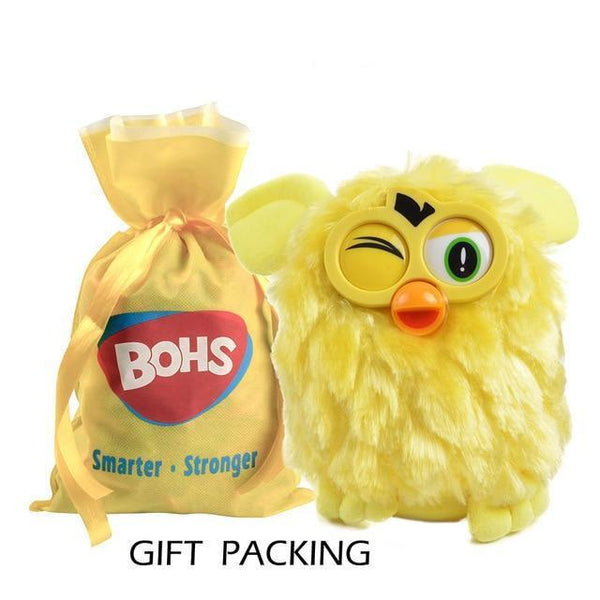 Talking Plush Phoebe Owl(17 CM)-Toy-yellow gift packing-Khadiza Electricals