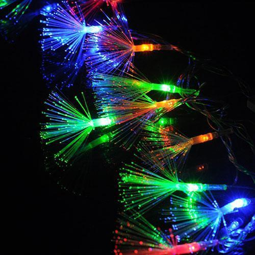 Optic Fiber Fairy String Light-Decorative String Light-Changeable-Khadiza Electricals