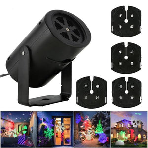 Led projector spotlight with 4 slides-DJ Lights & Sound-[variant_title]-Khadiza Electricals