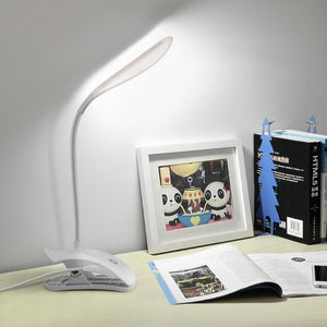 Dim-able LED Table lamp With Clip Stand and Touch Switch-Decorative Table Lamp-[variant_title]-Khadiza Electricals
