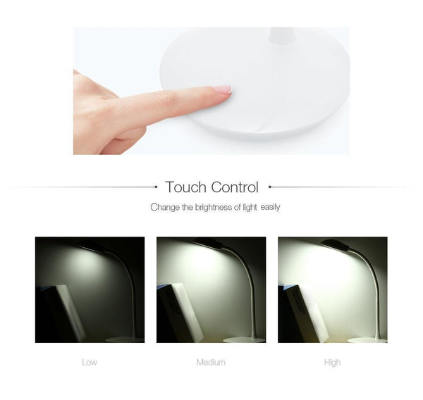 Flexible Portable LED Table Lamp with Touch Control (6W) Default title 0