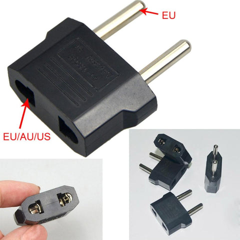 Universal Plug Convertor to EU (220V, 2 holes, 5A, No Voltage Conversion)