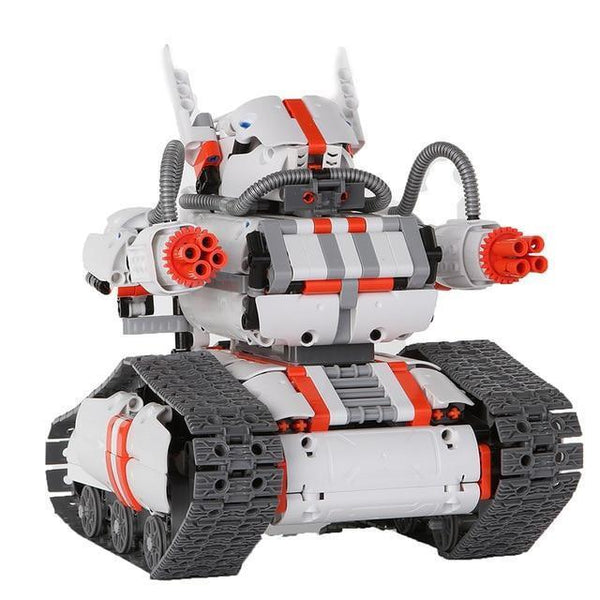 Programmable Robot Builder (DIY Building Blocks and Coding Kit with Bluetooth 4.0)-Toy-Track Robot-Khadiza Electricals