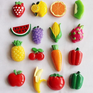 Fruits & Vegetables Fridge Magnets-Non Electric Home Decor-[variant_title]-Khadiza Electricals