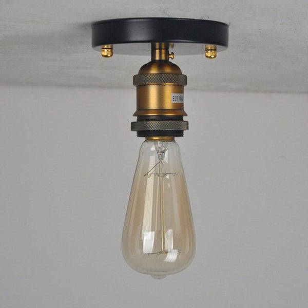 Retro Glass Vintage Ceiling Lamp
