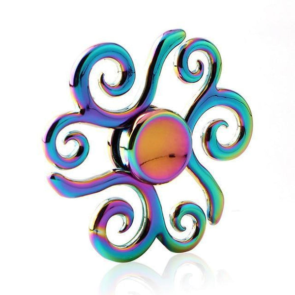Colorful Fidget Spinners (Choose from Multiple Options)-Funny But Useful-19-Khadiza Electricals