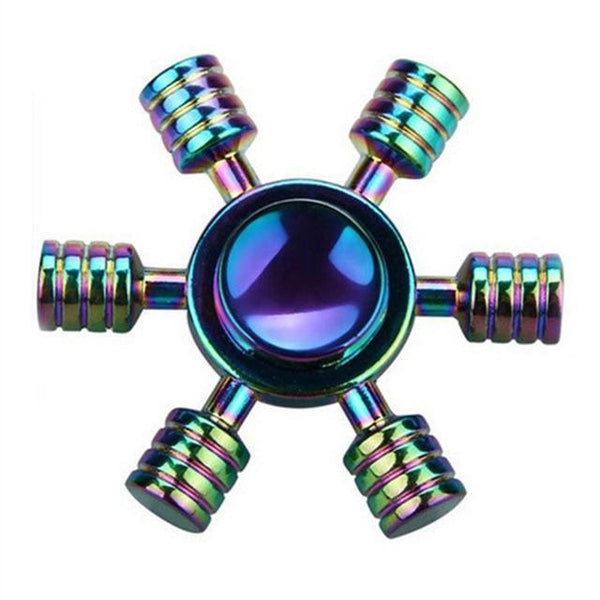 Colorful Fidget Spinners (Choose from Multiple Options)-Funny But Useful-21-Khadiza Electricals