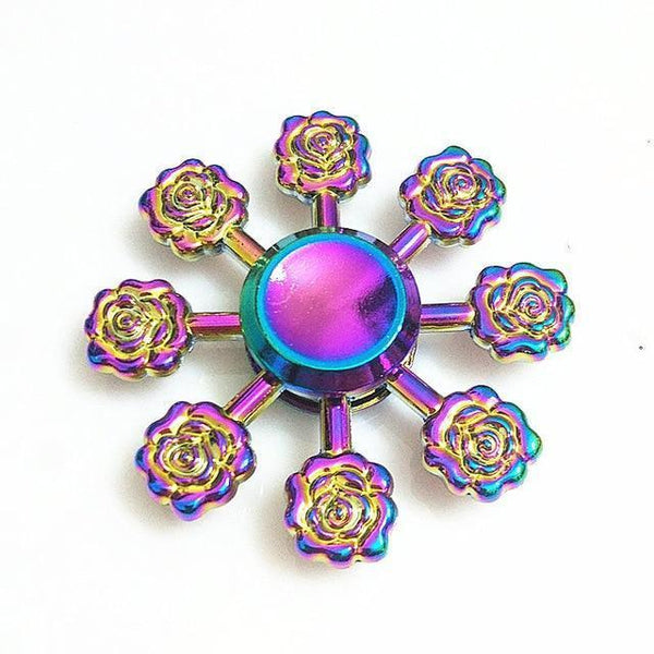 Colorful Fidget Spinners (Choose from Multiple Options)-Funny But Useful-26-Khadiza Electricals
