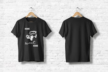 "Offroad T-Shirt ""Home sweet home"" in schwarz"