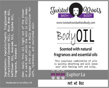 Load image into Gallery viewer, New! Twisted Body Oil