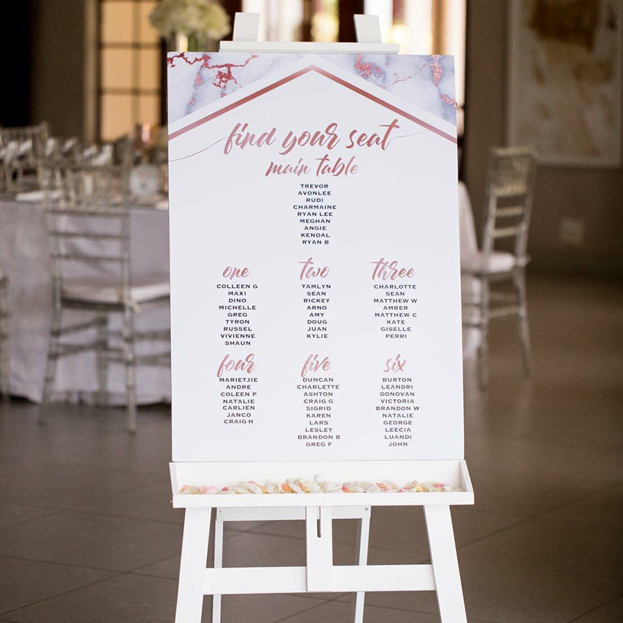 Table Seating Board