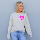 be wine Valentine's Day sweatshirt for women