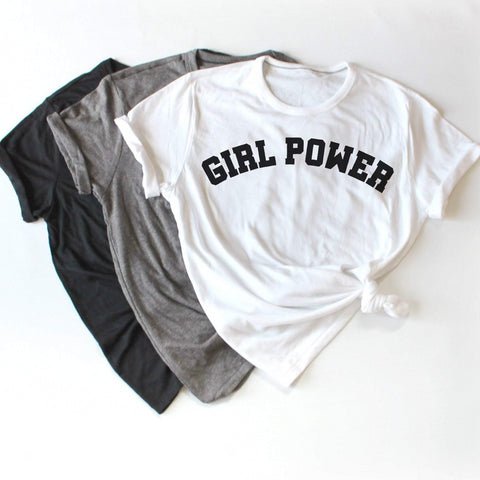 Girl Power Women's Graphic Tshirt