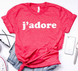 J'adore Women's Graphic Tshirt
