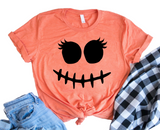 Stitch Face Funny Halloween Shirt