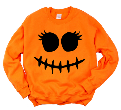 Stitch Face Halloween Sweatshirt