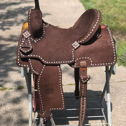 Cowboy Rust Saddle & Tack
