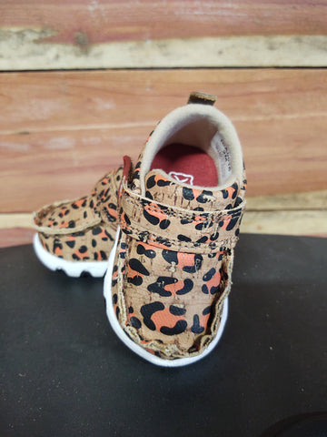 Twisted X Infant Leopard Carrot Moc