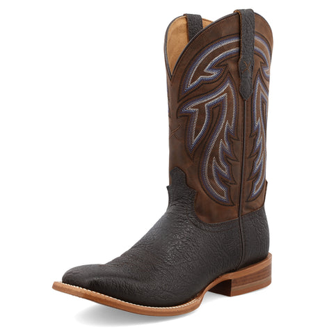 "Twisted X Mens 12"" Rancher - Black & Coffee"